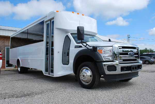 22 Passenger party bus rental norfolk