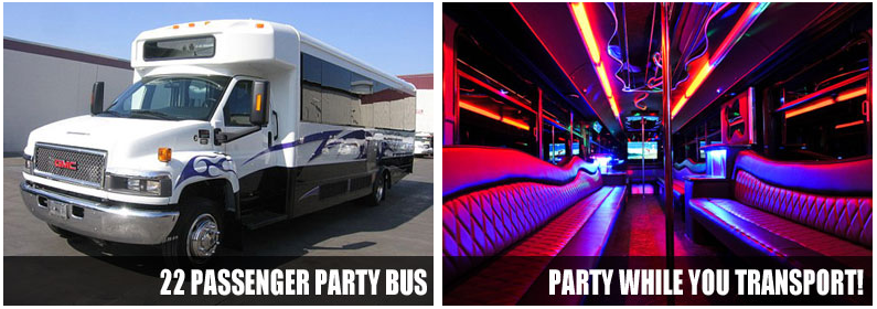 bachelorete parties party bus rentals norfolk