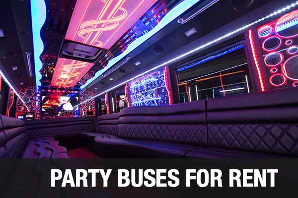 wedding transportation party bus norfolk