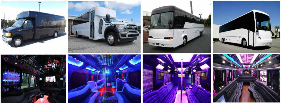 wedding transportation party buses norfolk