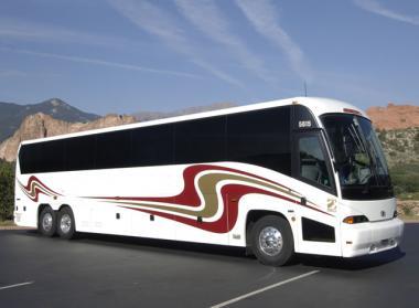 Norfolk 56 Passenger Charter Bus